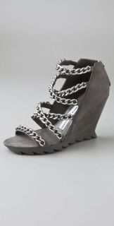 Camilla Skovgaard Chain Cross Strap Saw Sandals
