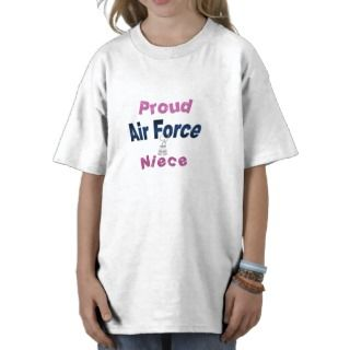 Proud Air Force Niece Kids Tee