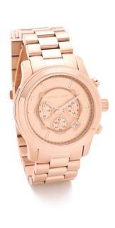 Michael Kors Oversized Rose Gold Watch