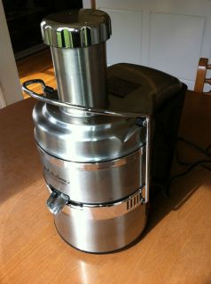 Jack Lalanne Power Juicer Pro Stainless Steel
