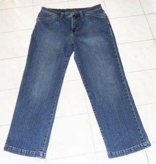 Womens Jag Stretch Boot Cut Leg Jeans 16 s Hemmed 27 Length
