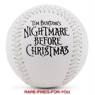 Jack Skellington Baseball Nightmare Before Christmas Disney Theme Park