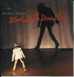 Michael Jackson Blood Dance Floor Dangerous 4TRX EDITS Sleeve USA CD