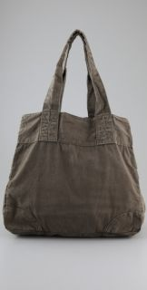 Club Monaco Army Canvas Tote