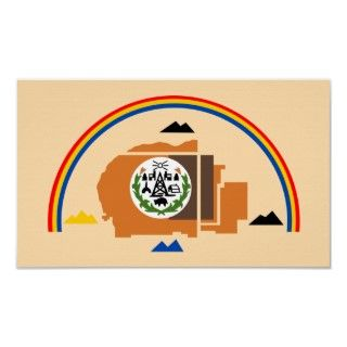 Tribal Flag of the Navajo Nation   Native Americans series