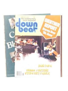 1979 Down Beat Magazine Weather Report Jaco Pastorius