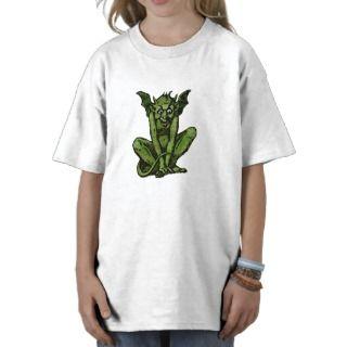 Mossy Little Green Goblin Man T shirts
