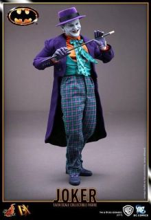 JOKER/JACK NICHOLSON Sideshow/Hot Toys Batman 12 Movie Figure ~DC