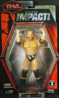 Matt Morgan TNA Deluxe Impact 3 Jakks Toy Wrestling Action Figure