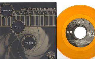 Jack White Alicia Keys Another Way to Die 7 45 Record New Third Man