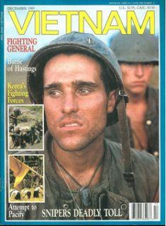 Vietnam Dec 89 US Army USMC Sniper Teams M 14 Starlight