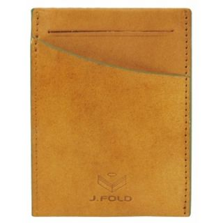 Fold Leather Wallet Card Man J Fold Front Pocket Clearcut Slim Card