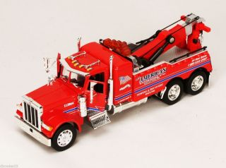 Jada Toys Roadrigz Peterbilt 379 Model Tow Truck 1 32 Red
