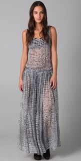 Shakuhachi Alligator Drop Waist Dress
