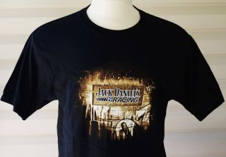 Jack Daniels Tennessee Whisky Racing T Shirt LG New