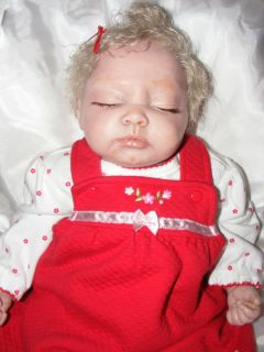 Reborn Jaden Blond Haired Doll by Aleina Peterson Now Jayden Newborn