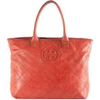 Authentic Tory Burch Jaden Tote in Red