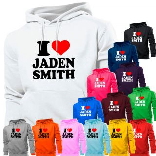 Love Heart Jaden Smith Karate Kid Will Hoodie Hoody Womens Boy Girl