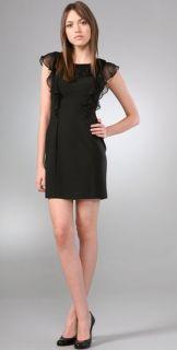 Black Halo Jade Mini Dress