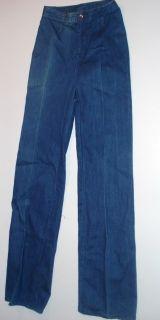 Vintage 1970s Jag Australia Jeans Size 2 No Pockets