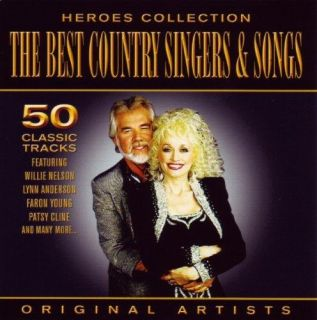 Heroes Collection Best Country Singers Songs Audio 2CD New