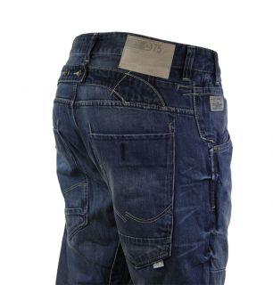 Jack Jones Stan Arvi Mens Designer Jeans AW12 Mid Wash