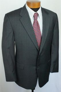 Hickey Freeman Madison Worsted Wool 2 BTN Jacket Sport Coat Sz 44