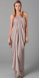 Acne Delirious Draped Long Dress