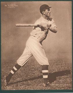 Jake Daubert 1913 Sporting News Supplement M101 2 RARE