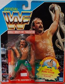 Jake The Snake WWF 4 Mexican Series Wrestling Figure