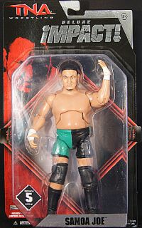 Samoa Joe TNA Deluxe Impact 5 Toy Wrestling Figure