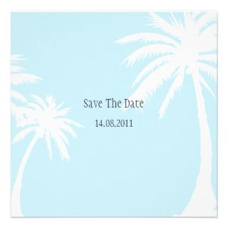 Palm Tree Wedding Invitations, 1,300+ Palm Tree Wedding Announcements