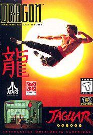 Atari Jaguar Game Dragon The Bruce Lee Story New SEALED