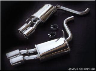 Jaguar XF Performance Exhaust Muffler Kit Upgrade