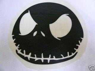 Anime Video Game Decal Sticker Jack Skellington NBC