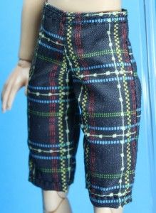 Black Red Yellow Green Swim Shorts Pants for Liv Jake Doll