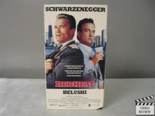 Redheat VHS Arnold Schwarzenegger James Belushi Peter Boyle Walter