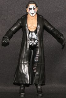 STING   TNA DELUXE IMPACT 3 JAKKS TOY WRESTLING ACTION **LOOSE FIGURE