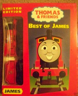Thomas Tank Engine Wooden James Train Best of James