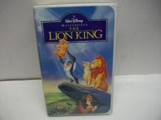 Walt Disney Masterpiece The Lion King VHS Kids Movie