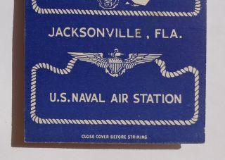 Postcard Disney Donald Duck Naval Air Station Jacksonville FL