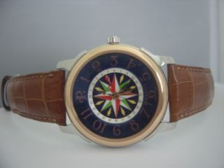 500 Perrelet Limited Edition James Cook Watch Enamel Dial