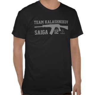 Saiga 12  Team AK Shirt