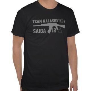 Saiga 12  Team AK Shirt