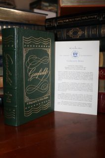 Easton Press Garfield Biography A of James Garfield Collectors Notes