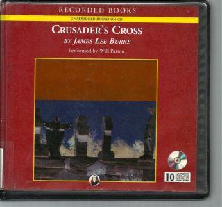 Crusaders Cross by James Lee Burke Unab CD Audiobook