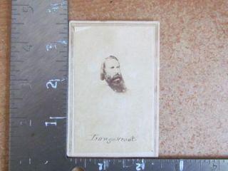 Confederate Civil War General James Longstreet