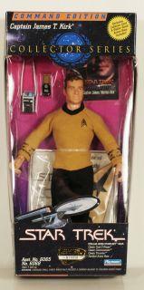 Playmates Star Trek Captain James Kirk Collector Series Command