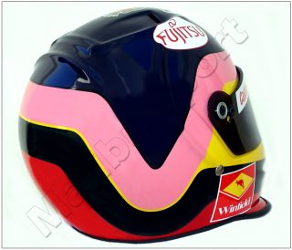 Jacques Villeneuve F1 1998 Replica Helmet Scale 1 1