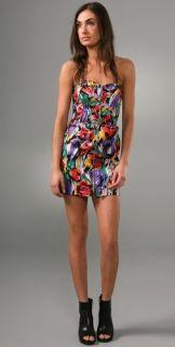MINKPINK Texta Strapless Dress